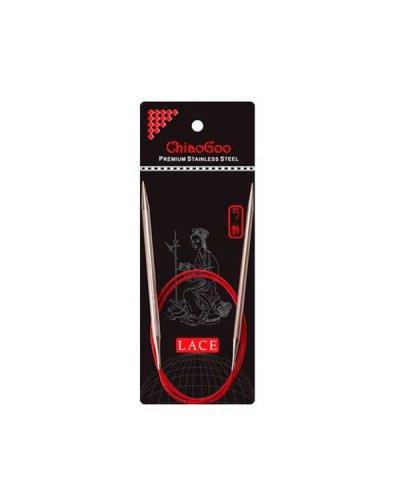 Спицы круговые Chiaogoo RED Lace Premium SS 60 см