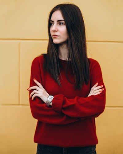 Женский вязаный свитер Mink Cashmere
