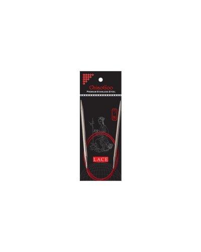Спицы круговые Chiaogoo RED Lace Premium SS 120 см