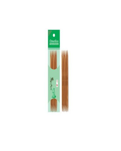"""Спицы носочные бамбуковые Bamboo Dark Patina 15 см (6"""")"""