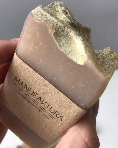 Ланолиновое мыло с ароматом мяты