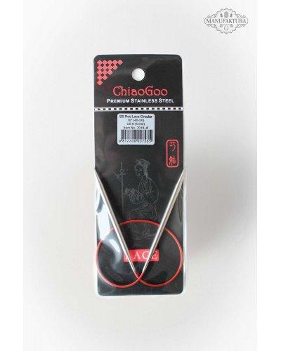Спицы круговые Chiaogoo RED Lace Premium SS 40 см